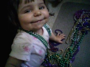 The Mardi-Gras Beads Jackpot!