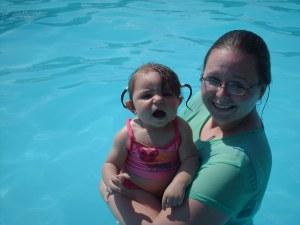 First Swim!