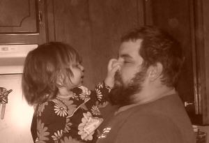 Tori and Daddy